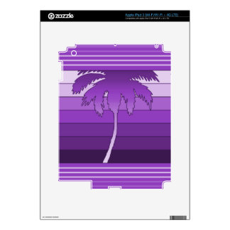 Hilo Hawaiian Palm iPad or Tablet Skin iPad 3 Skins