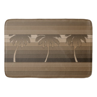 Hilo Hawaiian Palms Striped Bath Mats