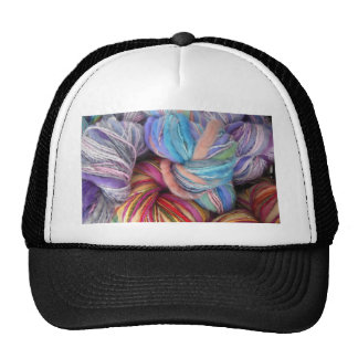 Hilo para obras de punto teñido gorras