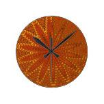 Hilos de oro de seda: SOLDADO ENROLLADO EN EL EJÉR Reloj De Pared