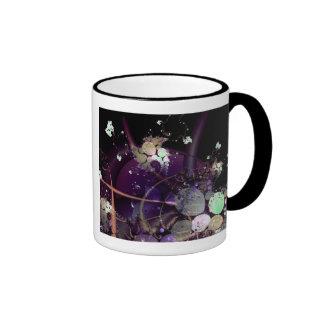 Hilos del universo taza de dos colores