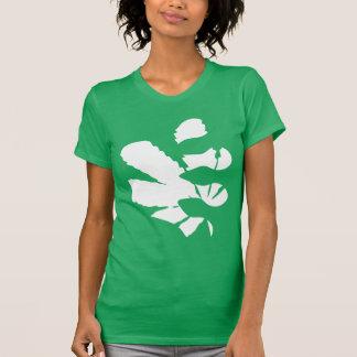 Hilos frescos del logotipo el | de la hoja camisetas