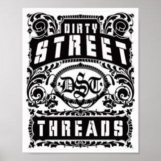 hilos sucios de la calle poster