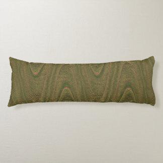 Hilos tejidos extracto, almohada verde clara del