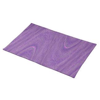Hilos tejidos extracto, Placemat púrpura Manteles Individuales