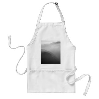 Hils in the mist adult apron