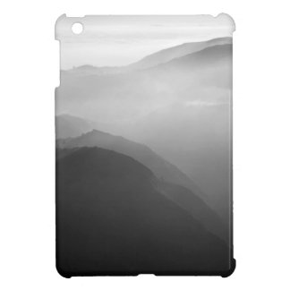 Hils in the mist iPad mini cover