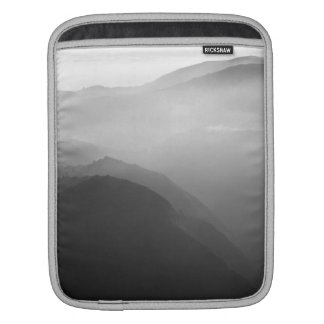 Hils in the mist iPad sleeves