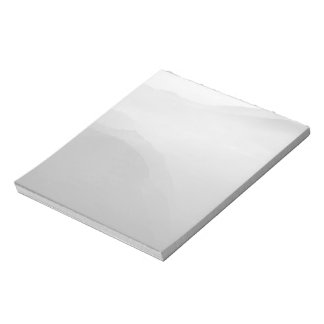 Hils in the mist memo note pad