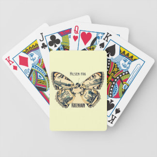 Hilsen Fra Kobenhavn - Greetings from Copenhagen Bicycle Playing Cards
