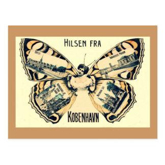 Hilsen Fra Kobenhavn - Greetings from Copenhagen Postcard