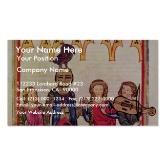 Hiltbolt Of Swanegoen Two Ladies To The Dance By M Double-Sided Standard Business Cards (Pack Of 100)