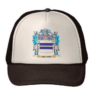 Hilton Coat of Arms - Family Crest Trucker Hats