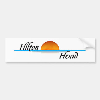 Hilton Head Etiqueta De Parachoque
