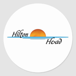 Hilton Head Classic Round Sticker