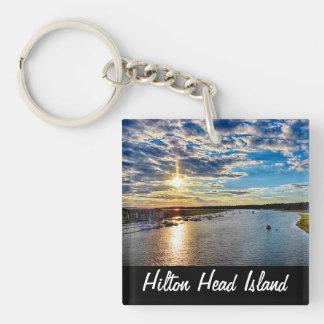Hilton Head Double Sided Keychain