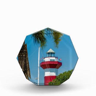 hilton head harbor town lighthouse acrylic award