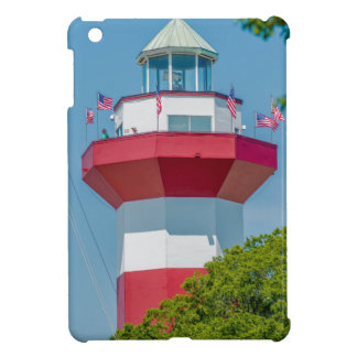 hilton head harbor town lighthouse red white south case for the iPad mini