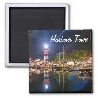Hilton Head Harbour Town Lighthouse Magnet