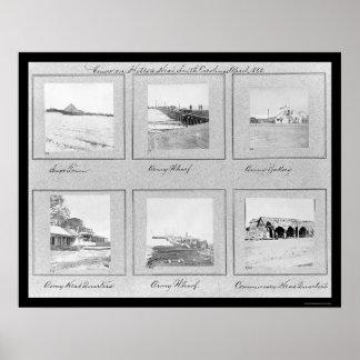 Hilton Head, ilustraciones 1862 de la foto del SC Posters