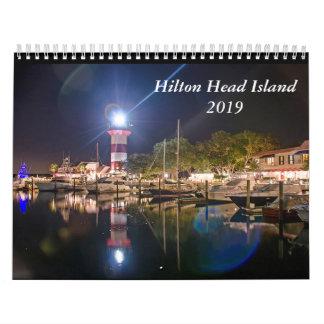Hilton Head Island 2019 Calendar