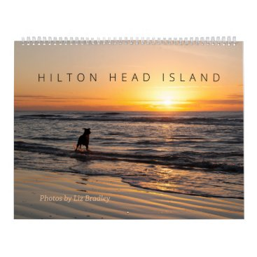 Beach Themed Hilton Head Island Calendar