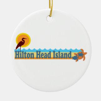 Hilton Head Island. Ceramic Ornament