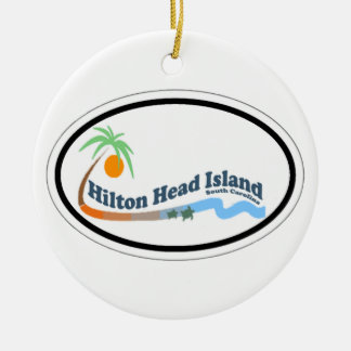 Hilton Head Island. Ceramic Ornament