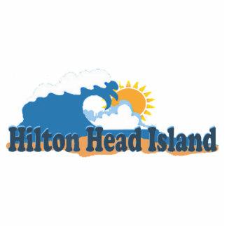 Hilton Head Island. Cutout