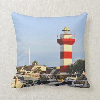 Hilton Head Island lighthouse, 2 views on pillow