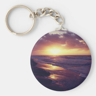 Hilton Head Island, SC Basic Round Button Keychain