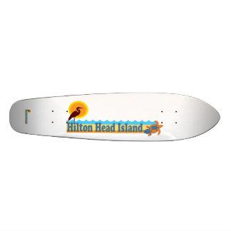 Hilton Head Island. Skateboard Deck