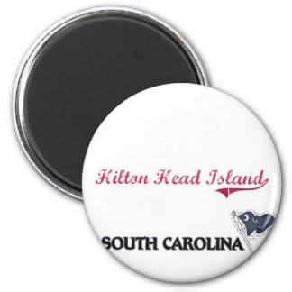 Hilton Head Island South Carolina City Classic Magnet