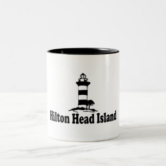 Hilton Head Island. Two-Tone Coffee Mug