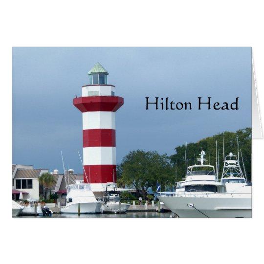 Hilton Head Lighthouse Card