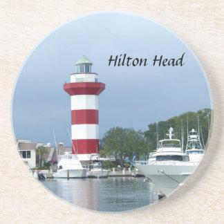 Hilton Head Lighthouse Drink Coaster