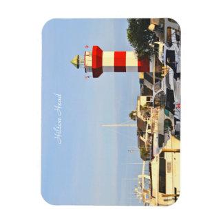 Hilton Head Lighthouse, photography, on Magnet