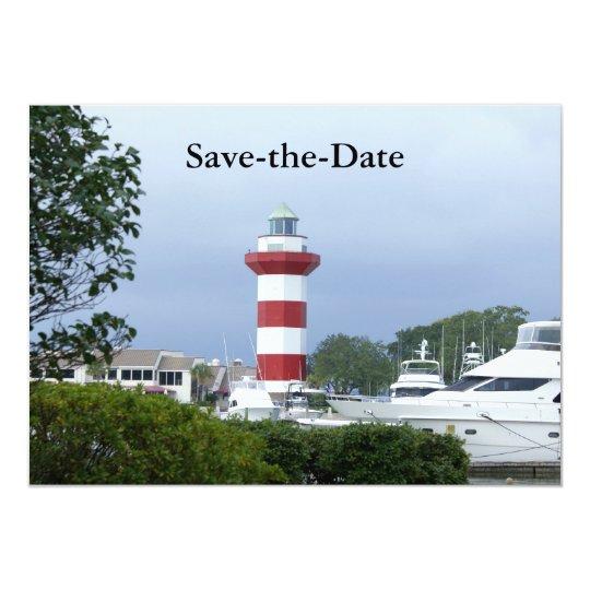 Hilton Head, Save-the-Date Card
