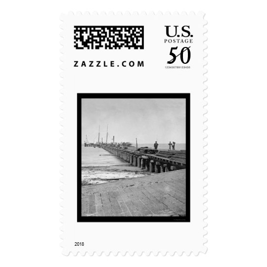 Hilton Head, SC Dock 1862 Postage