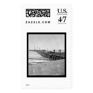 Hilton Head, SC Dock 1862 Stamp
