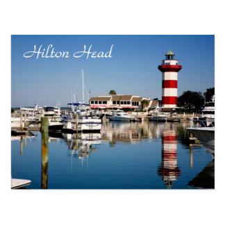Hilton Head SC Harbour Town Lighthouse Postcard