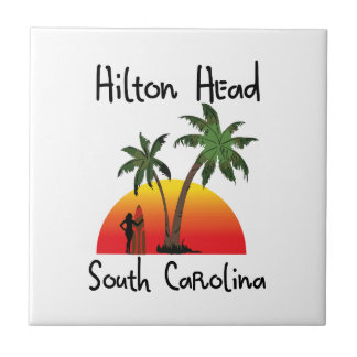 Hilton Head South Carolina Ceramic Tile