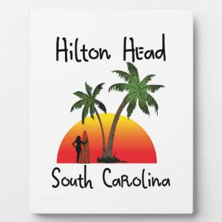 Hilton Head South Carolina Plaque