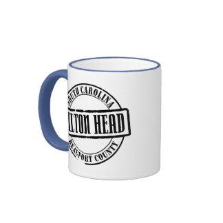 Hilton Head TItle Coffee Mugs