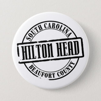 Hilton Head Title Pinback Button