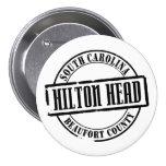 Hilton Head Title Pinback Buttons