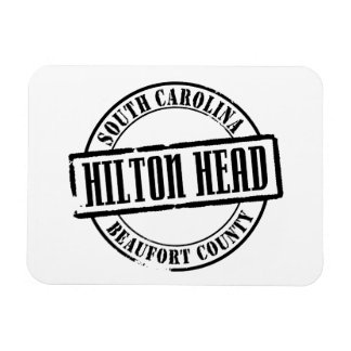 Hilton Head Title Flexible Magnets