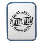 Hilton Head Title Sleeve For iPads
