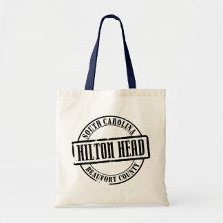Hilton Head TItle Tote Bag