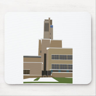 Hilversum Town Hall Mouse Pad